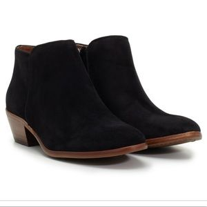 Sam Edelman Petty Suede Side Zip Ankle Boot